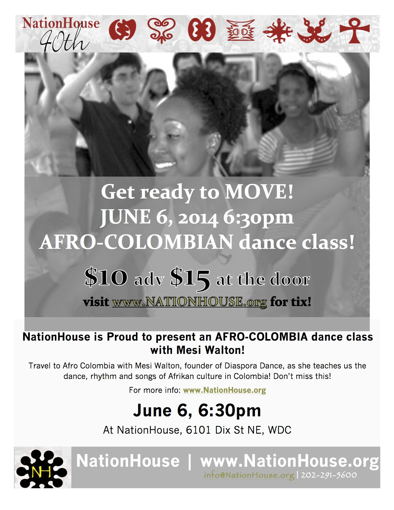 NationHouse Afro-Colombian dance 2014