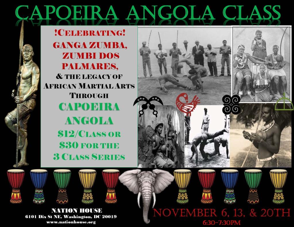 capoeira flyer